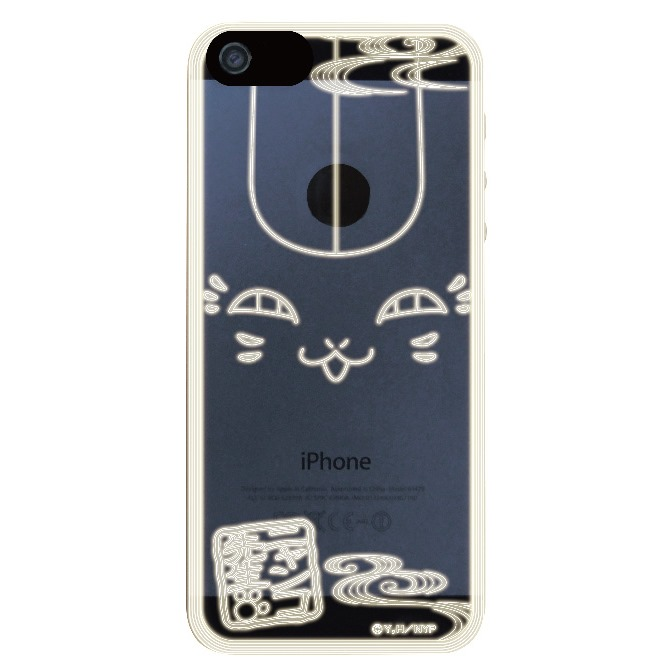 iPhone SE/5s/5 ケース フラッシュフィルムiPhone5(ニャンコ フェイス)_0