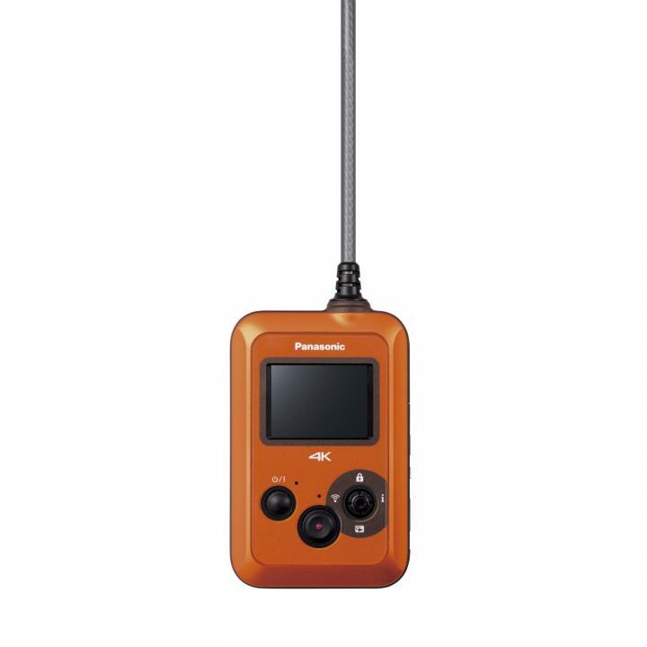 4K30p撮影対応のウェアラブルカメラ HX-A500-H オレンジ
