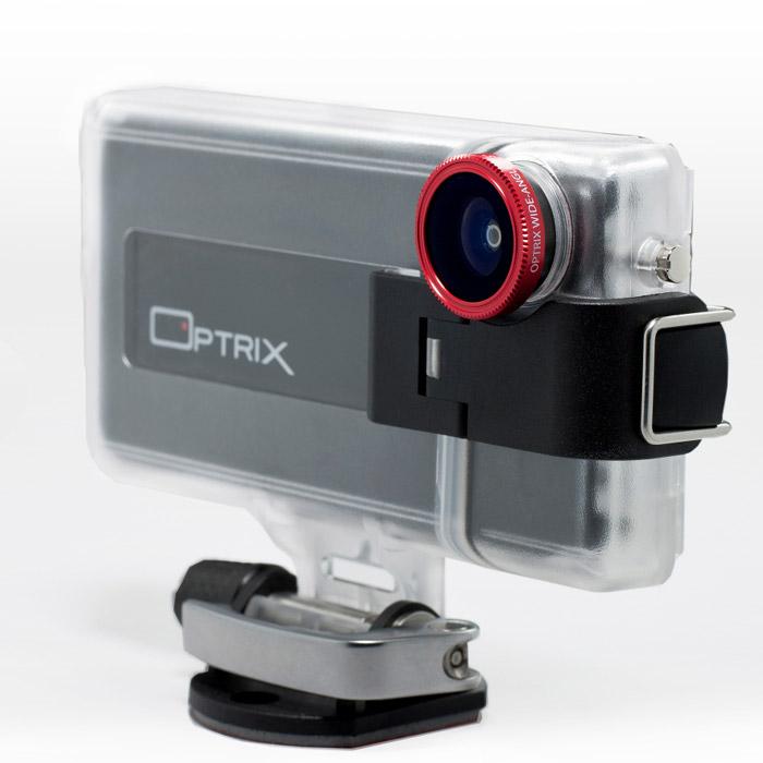 アクションカメラにできるケース Optrix Cameras XD4 アクションカメラキット iPhone 4s/4ケース_0