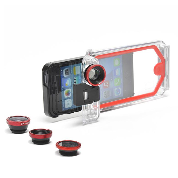 Optrix Cameras 周辺機器 PhotoPro X (4レンズキット) iPhone 5s/5