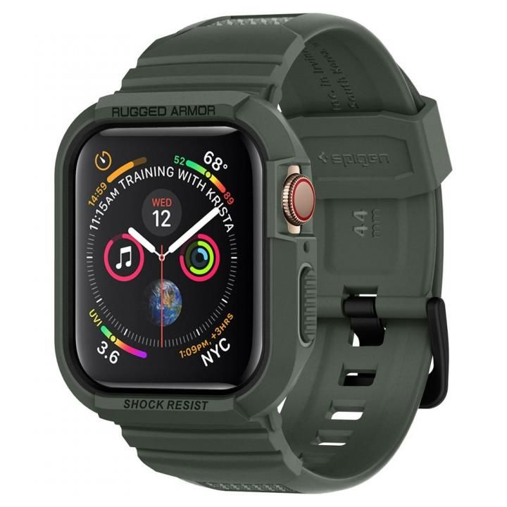 Apple Watch 4 (44mm)Rugged Armor Pro Military Green_0