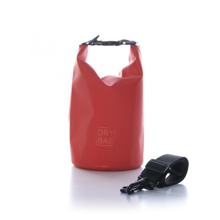 WATER PROOF DRY BAG 防水ドライバッグ 各種サイズ 2L/レッド_0