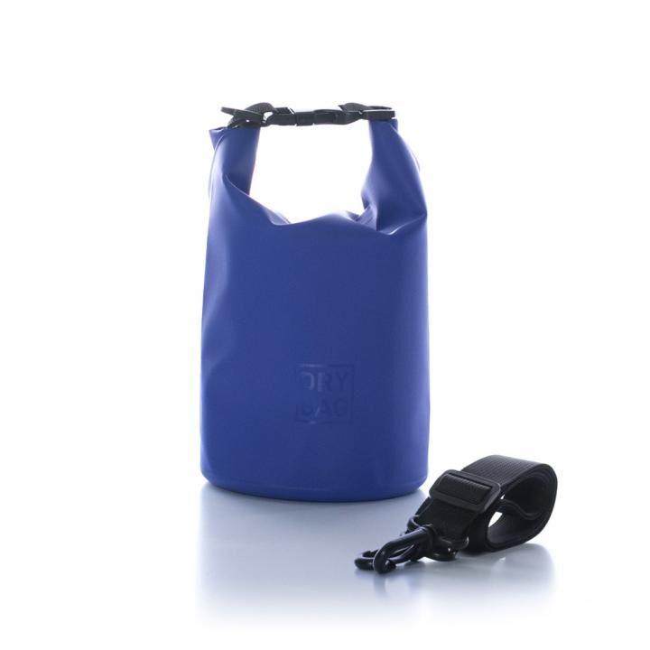 WATER PROOF DRY BAG 防水ドライバッグ 各種サイズ 2L/ブルー_0