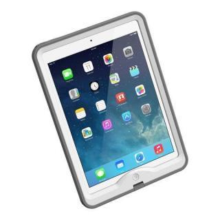 防水なのに液晶画面に直接触れる LifeProof iPad Air nuud ホワイト
