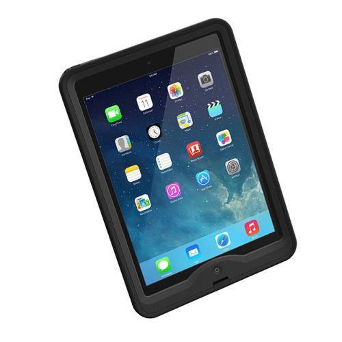 防水なのに液晶画面に直接触れる LifeProof iPad Air nuud ブラック_0