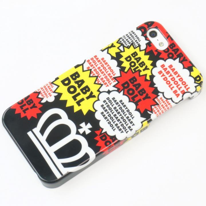 【iPhone SE/5s/5ケース】【iPhone SE/5s/5】 BABYDOLLコラボケース (ブラック)_0