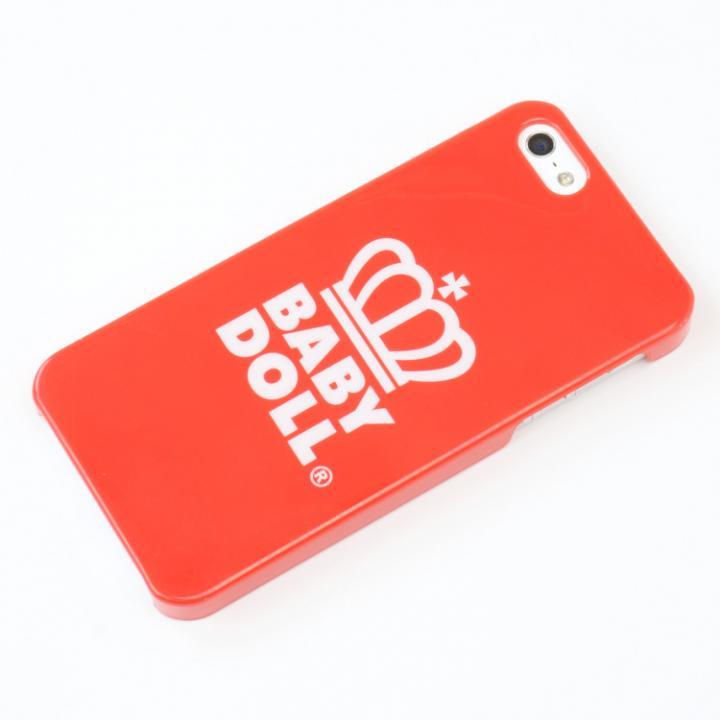 【iPhone SE/5s/5ケース】【iPhone SE/5s/5】 BABYDOLLコラボケース (レッド)_0