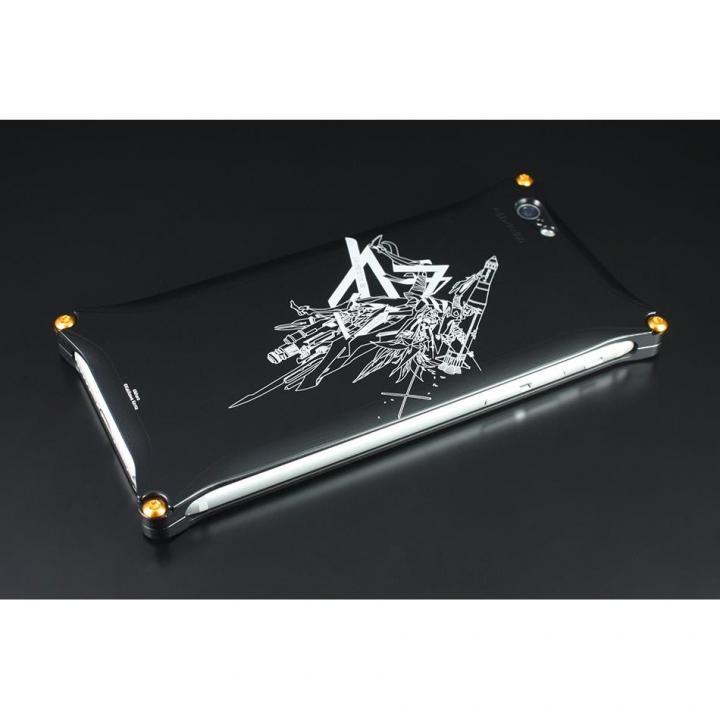 【iPhone6s/6ケース】RADIO EVA×GILDdesign Abstract ソリッドケース 零号機ブラック iPhone 6s/6_0