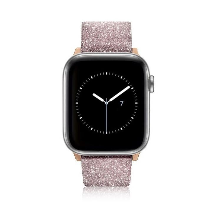 Casetify Glitter Apple Watch バンド ピンク for 38mm/40mm_0