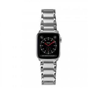 Casetify Apple Watch バンド Metal Link Bracelet Bands シルバー for 38mm/40mm