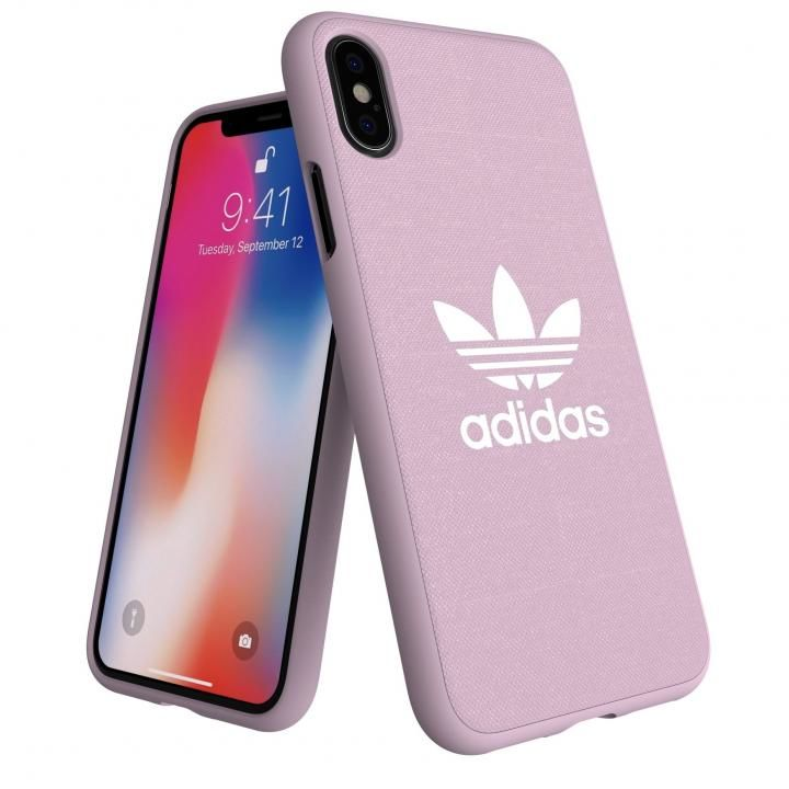 iPhone XS/X ケース adidas AdicolOriginals Moulded Case クリアピンク iPhone XS/X_0