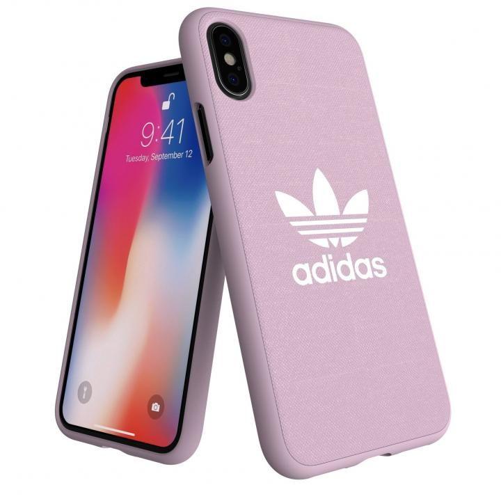 iPhone XS/X ケース adidas AdicolOriginals Moulded Case クリアピンク iPhone XS/X_0