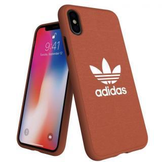 iPhone XS/X ケース adidas AdicolOriginals Moulded Case Shift オレンジ iPhone XS/X