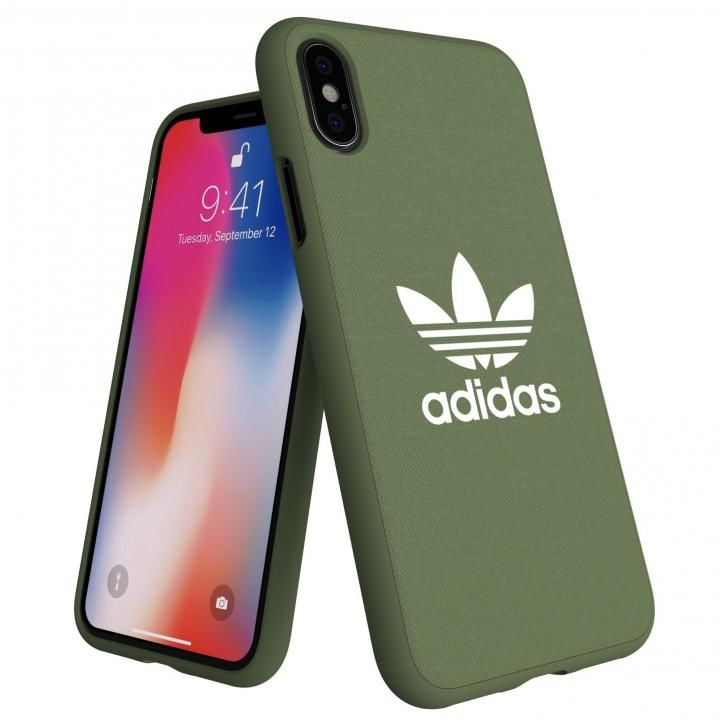 iPhone XS/X ケース adidas AdicolOriginals Moulded Case グリーン iPhone XS/X_0