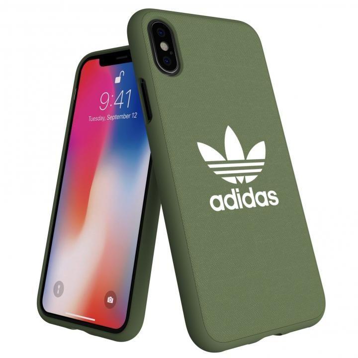 iPhone XS/X ケース adidas AdicolOriginals Moulded Case グリーン iPhone XS/X_0
