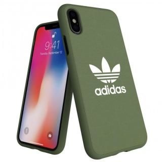 iPhone XS/X ケース adidas AdicolOriginals Moulded Case グリーン iPhone XS/X