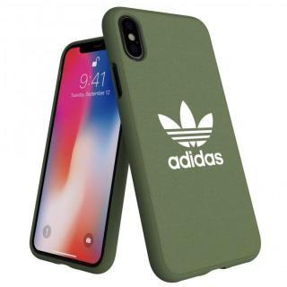 iPhone XS/X ケース adidas AdicolOriginals Moulded Case グリーン iPhone XS/X