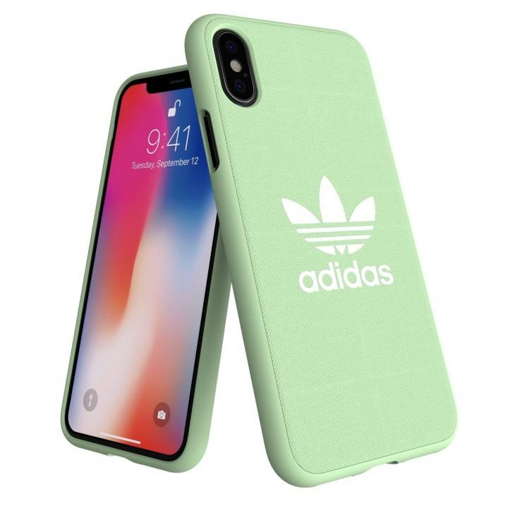 iPhone XS/X ケース adidas AdicolOriginals Moulded Case クリアミント iPhone XS/X_0