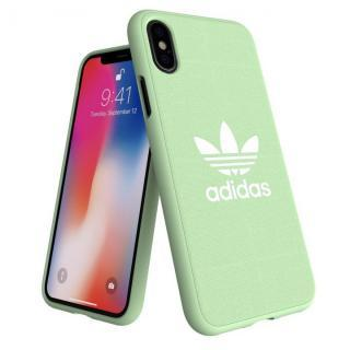 iPhone XS/X ケース adidas AdicolOriginals Moulded Case クリアミント iPhone XS/X
