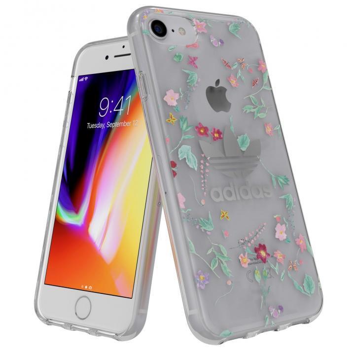 iPhone8/7 ケース adidas Originals Clear Case Graphic AOP カラフル iPhone 8/7_0