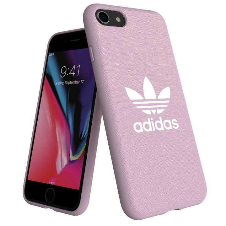 iPhone8/7 ケース adidas AdicolOriginals Moulded Case クリアピンク iPhone 8/7_0