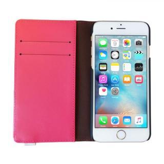 【iPhone6s/6ケース】ダンボー 手帳型ケース パッションピンク iPhone 6s/6_4