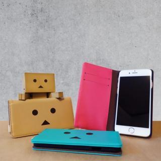 【iPhone6s/6ケース】ダンボー 手帳型ケース パッションピンク iPhone 6s/6_6
