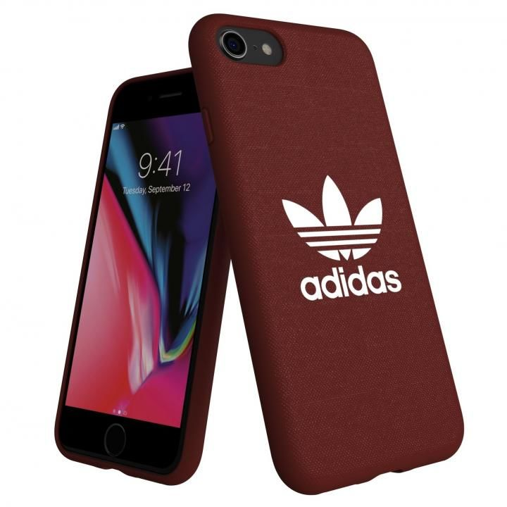 iPhone8/7 ケース adidas AdicolOriginals Moulded Case マルーン iPhone 8/7_0
