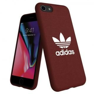 adidas AdicolOriginals Moulded Case マルーン iPhone 8/7