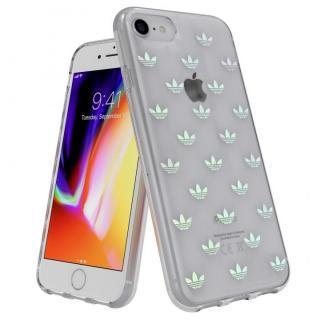 iPhone8/7 ケース adidas Originals Clear Case Trefoils カラフルロゴ iPhone SE 第2世代/8/7