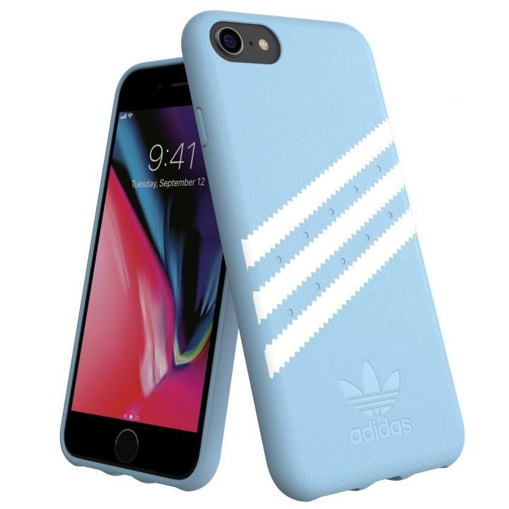 iPhone8/7 ケース adidas Originals Moulded Case GAZELLE ブルー iPhone SE 第2世代/8/7_0