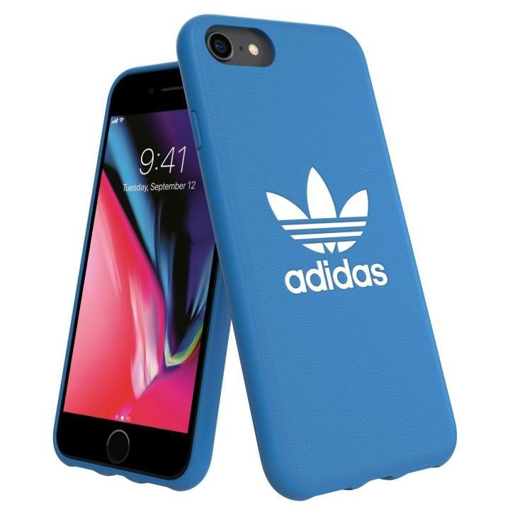 iPhone8/7 ケース adidas Originals TPU Moulded Case BASIC ブルーバード/ホワイト iPhone 8/7_0