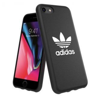 【iPhone8/7ケース】adidas Originals TPU Moulded Case BASIC ブラック/ホワイト iPhone 8/7