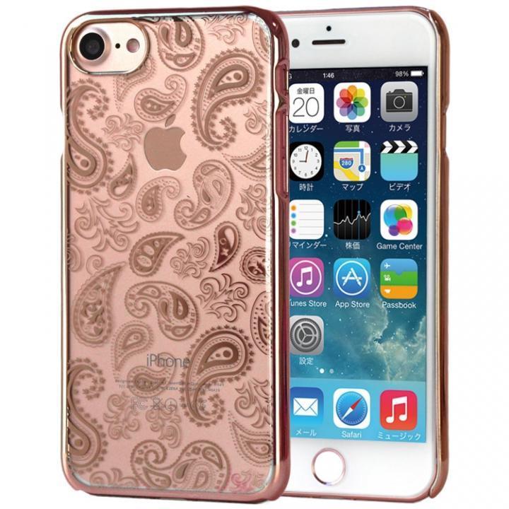 【iPhone7ケース】EDGEi ハードケース Paisley ローズゴールド iPhone 7_0