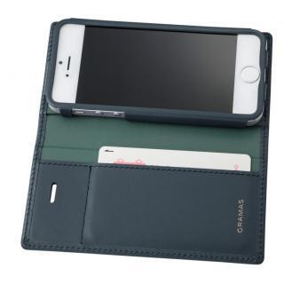 【iPhone SE/5s/5ケース】GRAMAS フルレザー手帳型ケース スーパーマン/ネイビー iPhone SE/5s/5_4