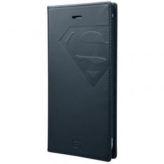 iPhone6s Plus/6 Plus ケース GRAMAS フルレザー手帳型ケース スーパーマン/ネイビー iPhone 6s Plus/6 Plus