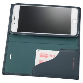 【iPhone6s Plus/6 Plusケース】GRAMAS フルレザー手帳型ケース スーパーマン/ネイビー iPhone 6s Plus/6 Plus_3