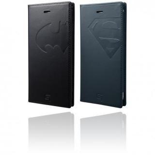 【iPhone6s Plus/6 Plusケース】GRAMAS フルレザー手帳型ケース スーパーマン/ネイビー iPhone 6s Plus/6 Plus_8