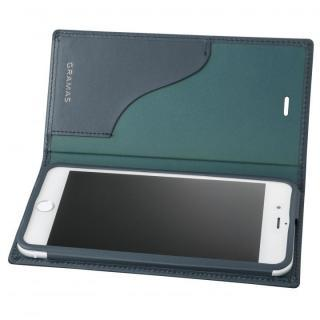 【iPhone8 Plus/7 Plusケース】GRAMAS フルレザー手帳型ケース スーパーマン/ネイビー iPhone 8 Plus/7 Plus_3