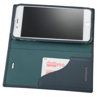 【iPhone8 Plus/7 Plusケース】GRAMAS フルレザー手帳型ケース スーパーマン/ネイビー iPhone 8 Plus/7 Plus_4