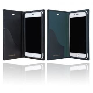 【iPhone8 Plus/7 Plusケース】GRAMAS フルレザー手帳型ケース スーパーマン/ネイビー iPhone 8 Plus/7 Plus_5