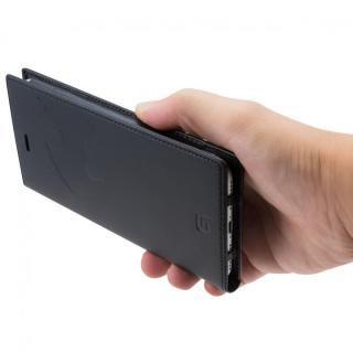 【iPhone8 Plus/7 Plusケース】GRAMAS フルレザー手帳型ケース スーパーマン/ネイビー iPhone 8 Plus/7 Plus_7