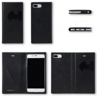 【iPhone8 Plus/7 Plusケース】GRAMAS フルレザー手帳型ケース スーパーマン/ネイビー iPhone 8 Plus/7 Plus_9