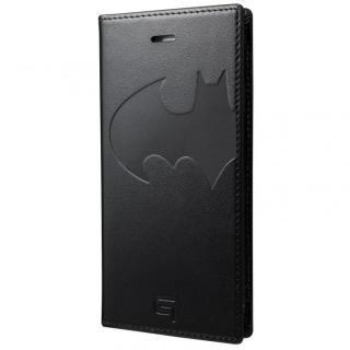 GRAMAS フルレザー手帳型ケース バットマン/ブラック iPhone 7
