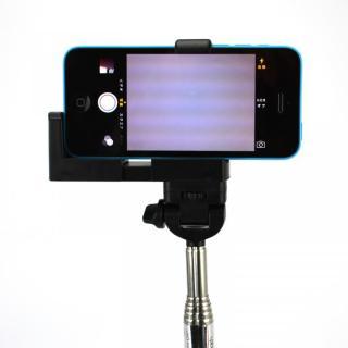 スマホで自撮り 手元で撮影 monopod  iPhone_5