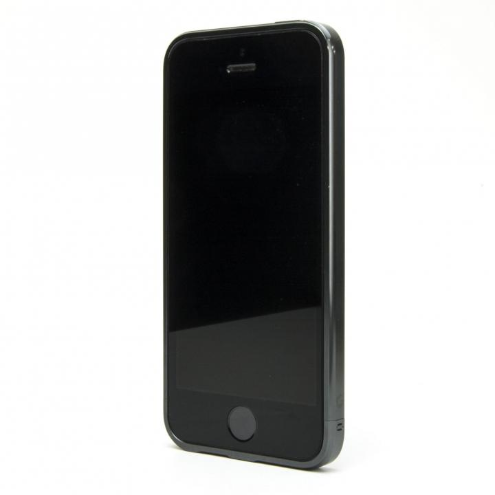 iPhone SE/5s/5 ケース ネジなしバンパー GRAVITY GRACE ディムグレー iPhone SE/5s/5バンパー_0