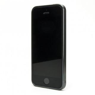 ネジなしバンパー GRAVITY GRACE ディムグレー iPhone SE/5s/5バンパー