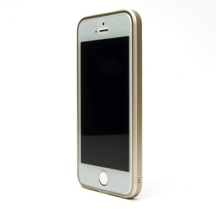 iPhone SE/5s/5 ケース ネジなしバンパー GRAVITY GRACE シャンパンゴールド iPhone SE/5s/5バンパー_0