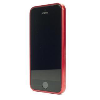 ネジなしバンパー GRAVITY GRACE エマージェンシーレッド iPhone SE/5s/5バンパー