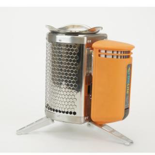 たき火の熱を電気に変換 BioLite キャンプストーブ(POTアダプター付き)_4